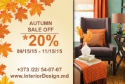Autumn Sale: 20% off | DIM - DESIGN INTERIOR MOLDOVA